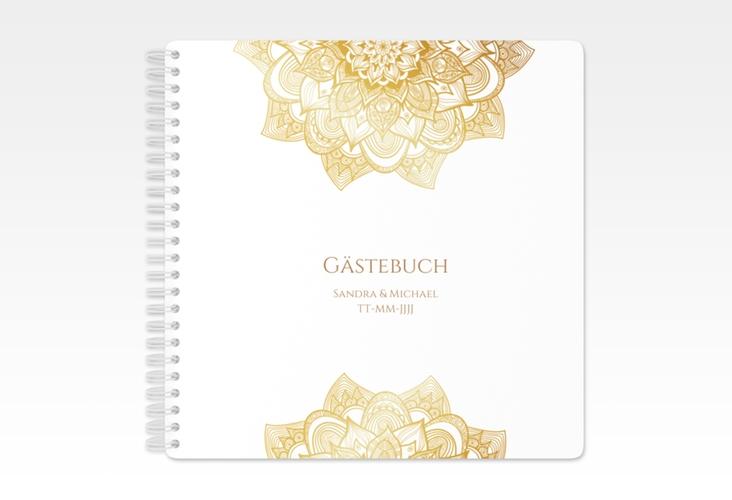"Gästebuch Hochzeit ""Delight"" Ringbindung"
