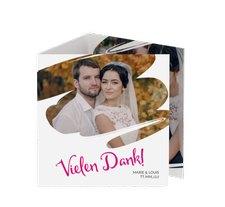 """Danksagungskarte Hochzeit """"Felice"""""""