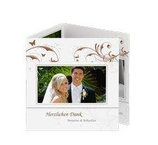 """Danksagungskarte Hochzeit """"Palma"""""""