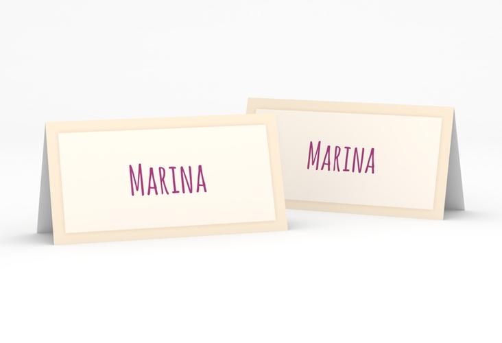 """Tischkarte Hochzeit """"Eulenliebe"""" Tischkarten"""