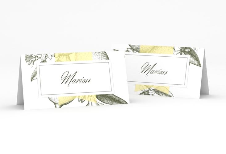 """Tischkarte Hochzeit """"Lemon"""" Tischkarten"""