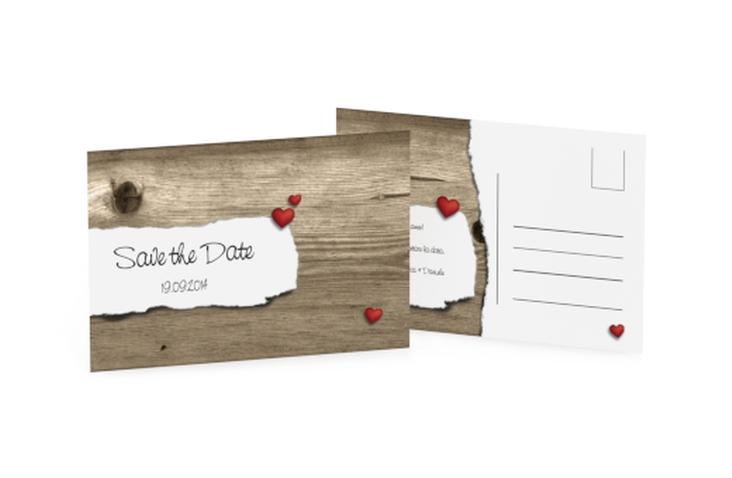 Biglietti Save the Date collezione Augusta A6 Postkarte