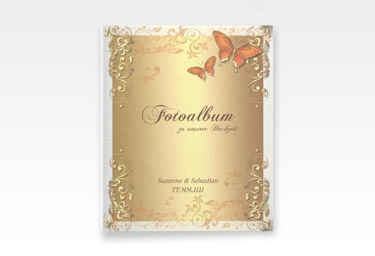 "Hochzeitsalbum ""Toulouse"" 21 x 25 cm orange"