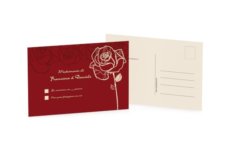 Biglietti risposta matrimonio collezione Rimini A6 Postkarte