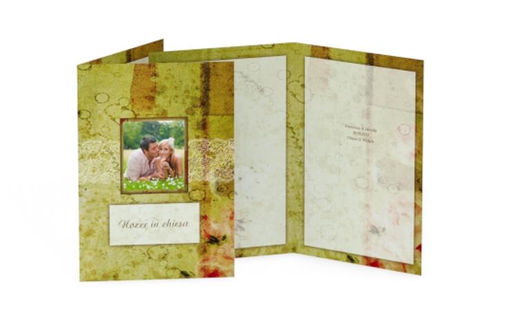 Libro messa matrimonio collezione Parigi DIN A5 geklappt