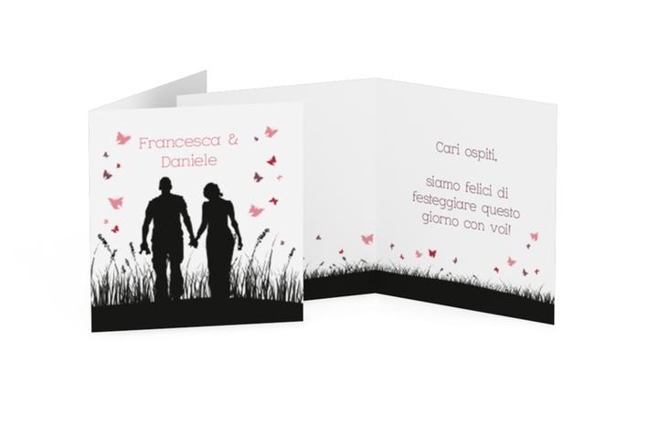 Biglietti Bomboniera matrimonio collezione Rouen Geschenkanhänger 10er Set
