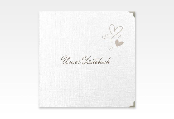 "Gästebuch Selection Hochzeit ""Purity"" Hardcover weiss"
