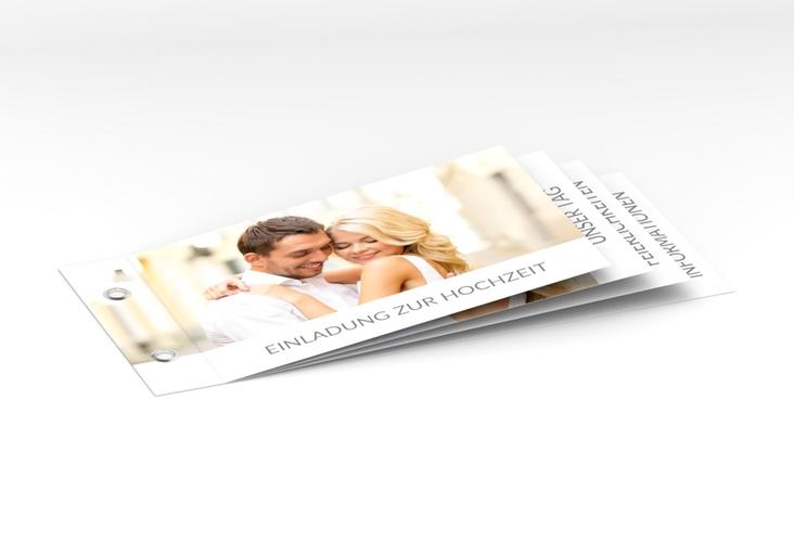 """Hochzeitseinladung """"Vista"""" Booklet"""