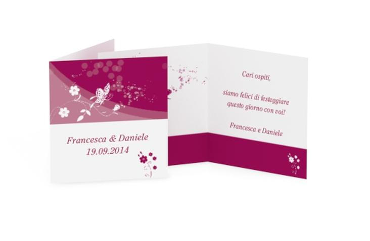 Biglietti Bomboniera matrimonio collezione Verona Geschenkanhänger 10er Set