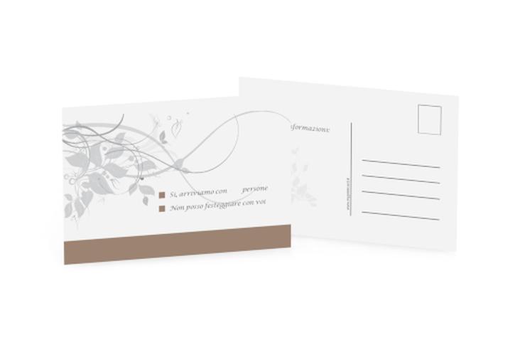 Biglietti risposta matrimonio collezione Firenze A6 Postkarte