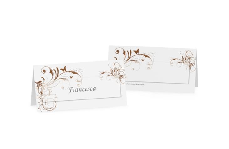 Segnaposti matrimonio collezione Palma Tischkarten