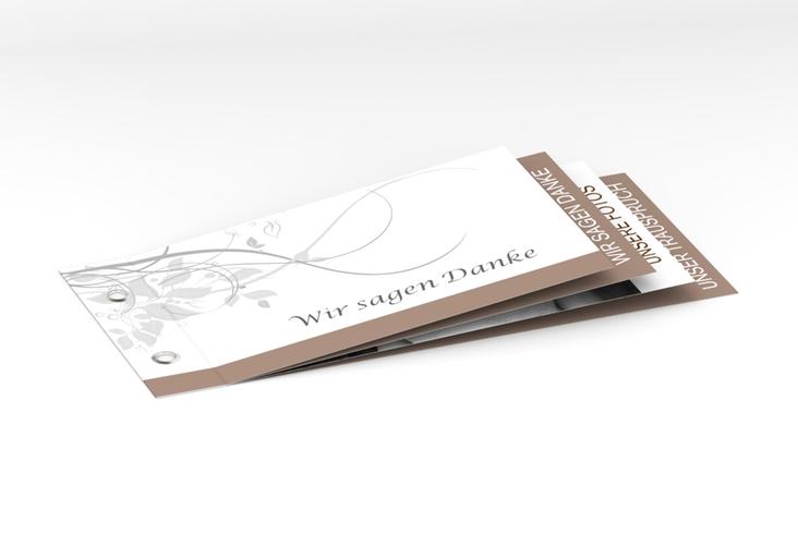 """Danksagungskarte Hochzeit """"Florenz"""" Booklet"""