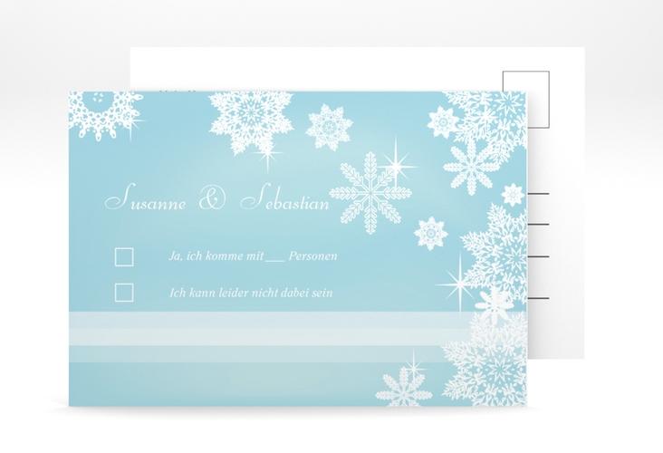 """Antwortkarte Hochzeit """"Meran"""" A6 Postkarte"""