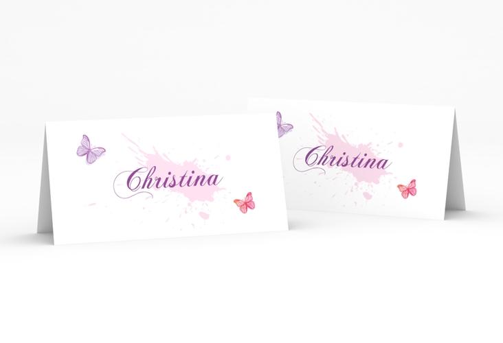 """Tischkarte Hochzeit """"Schmetterlinge"""" Tischkarten"""