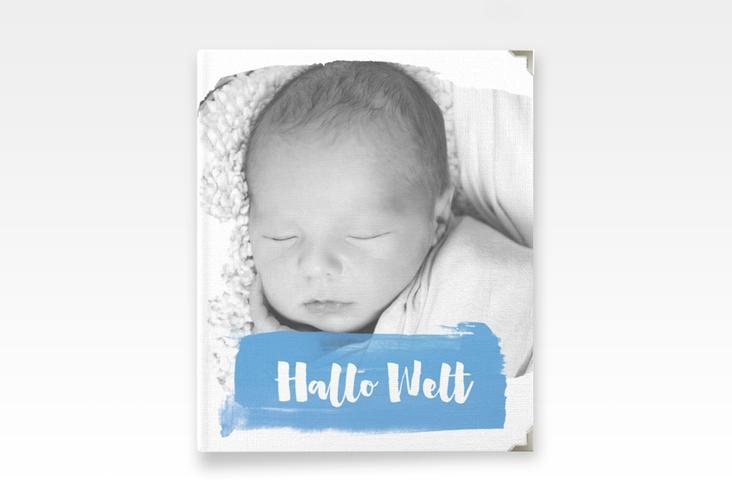 """Baby Fotoalbum """"Artwork"""" 21 x 25 cm blau"""