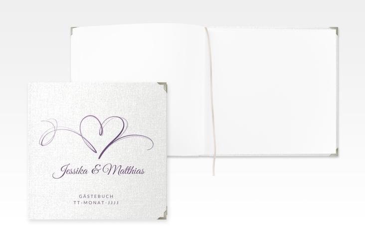 """Gästebuch Selection Hochzeit """"Envie"""" Leinen-Hardcover"""