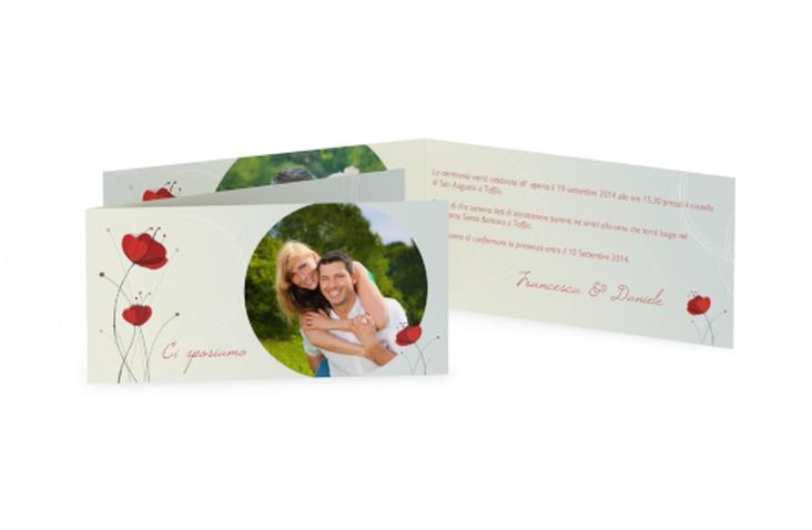 Inviti matrimonio collezione Madrid DIN lang Klappkarte