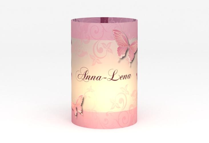 """Windlicht Hochzeit """"Toulouse"""" Windlicht rosa"""