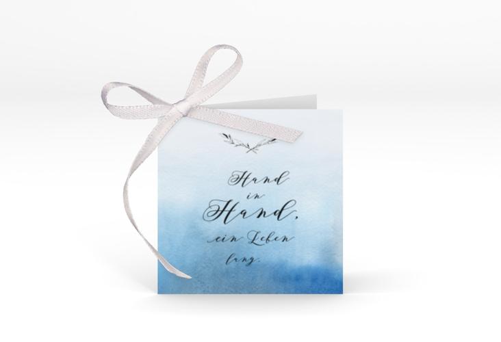 """Geschenkanhänger Hochzeit """"Divine"""" Geschenkanhänger 10er Set blau"""