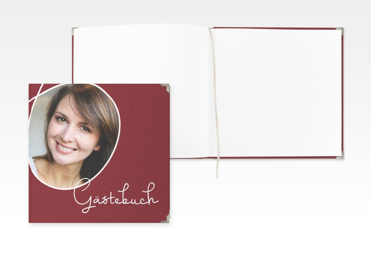 "Gästebuch Selection Geburtstag ""Swing"" Leinen-Hardcover"