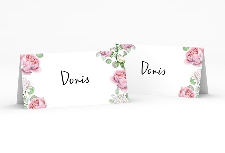 """Tischkarte Hochzeit """"Primavera"""" Tischkarten weiss"""