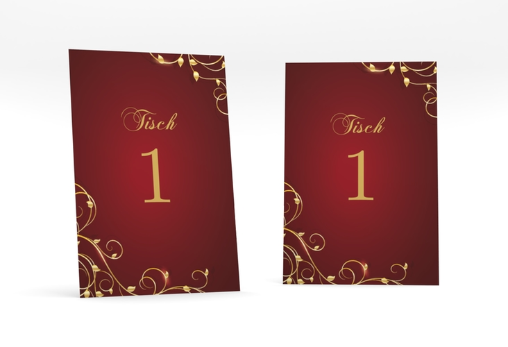 """Tischnummer Hochzeit """"Eternity"""" Tischaufsteller"""