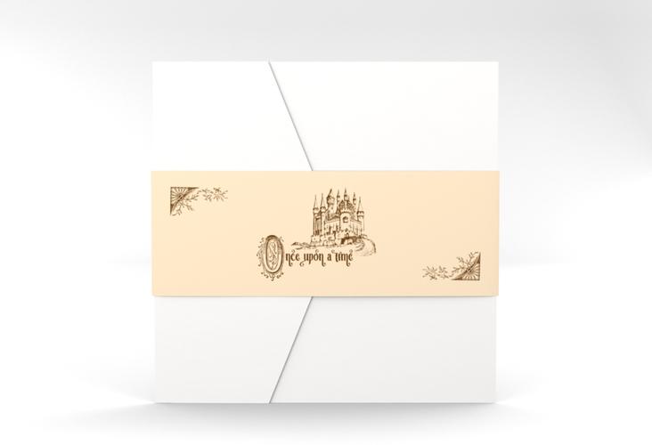 """Hochzeitseinladung """"Storybook"""" Pocketfold"""