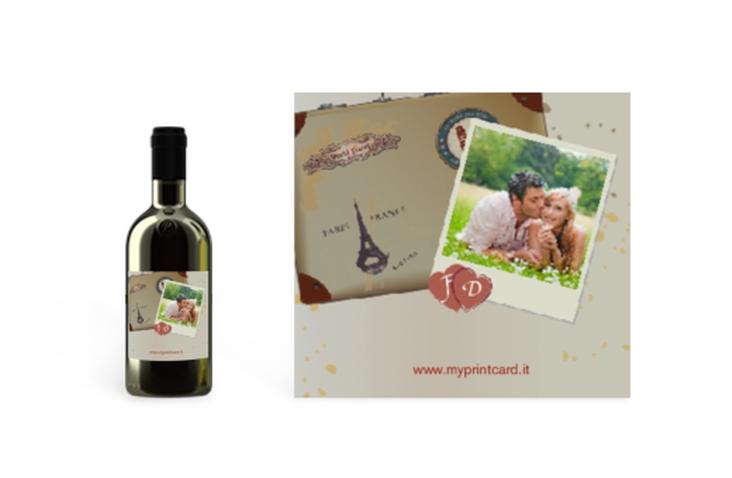 Etichette piccolo matrimonio collezione Catania Etikett Piccolo