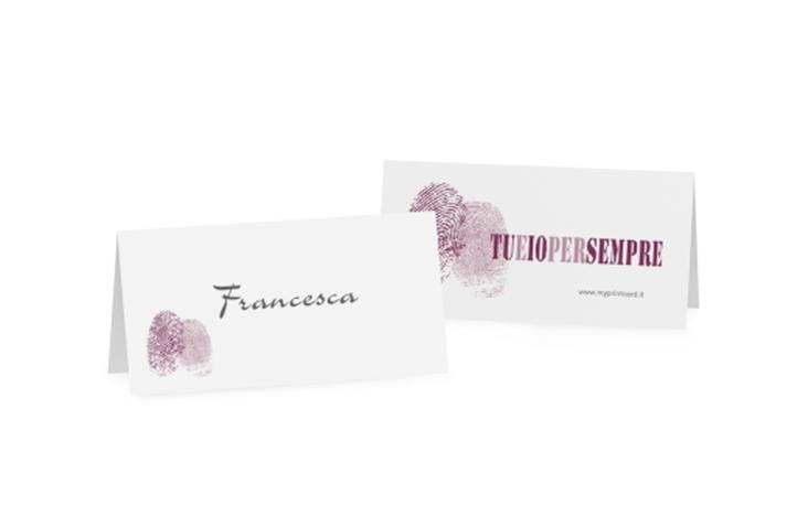 Segnaposti matrimonio collezione Messina Tischkarten