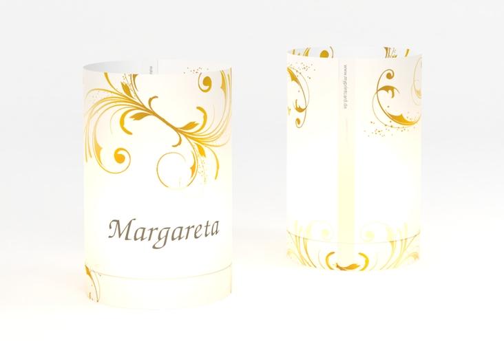 """Windlicht Hochzeit """"Palma"""" Windlicht gold"""