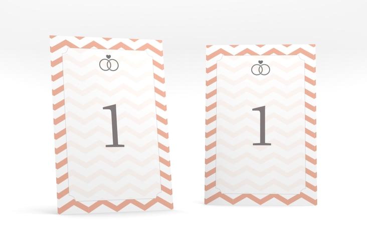 """Tischnummer Hochzeit """"Avery"""" Tischaufsteller"""
