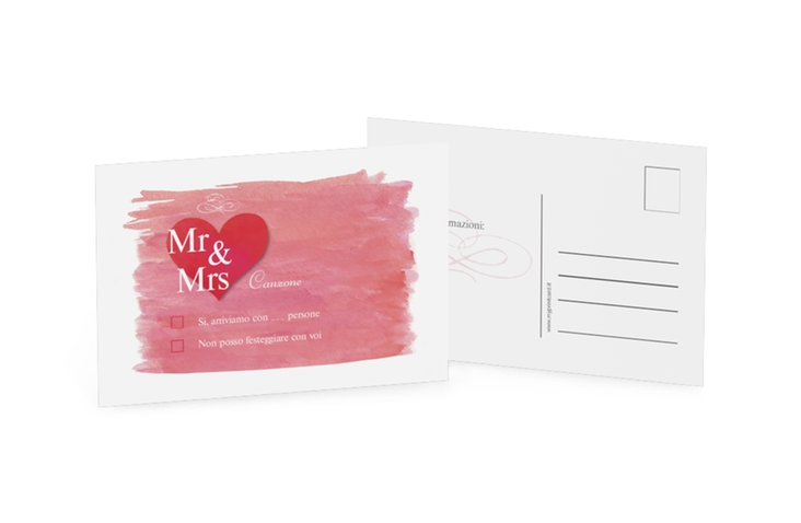 Biglietti risposta matrimonio collezione Fuerteventura A6 Postkarte