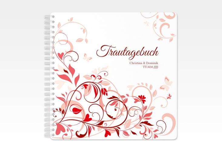 """Trautagebuch Hochzeit """"Lilly"""" Trautagebuch Hochzeit rot"""