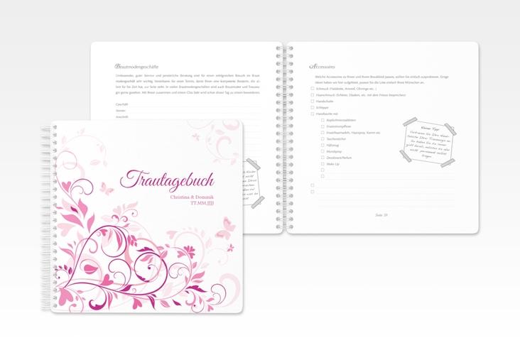 """Trautagebuch Hochzeit """"Lilly"""" Trautagebuch Hochzeit"""