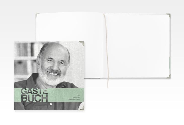 "Gästebuch Selection Geburtstag ""Banderole"" Leinen-Hardcover"