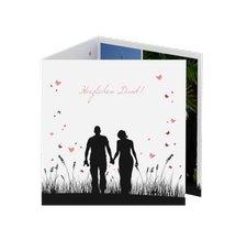 """Danksagungskarte Hochzeit """"Rouen"""""""