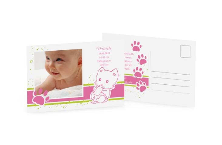 Biglietti nascita animaletto A6 Postkarte