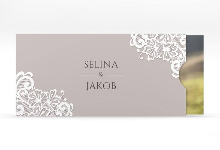 """Hochzeitseinladung """"Vintage"""" Einsteckkarte"""