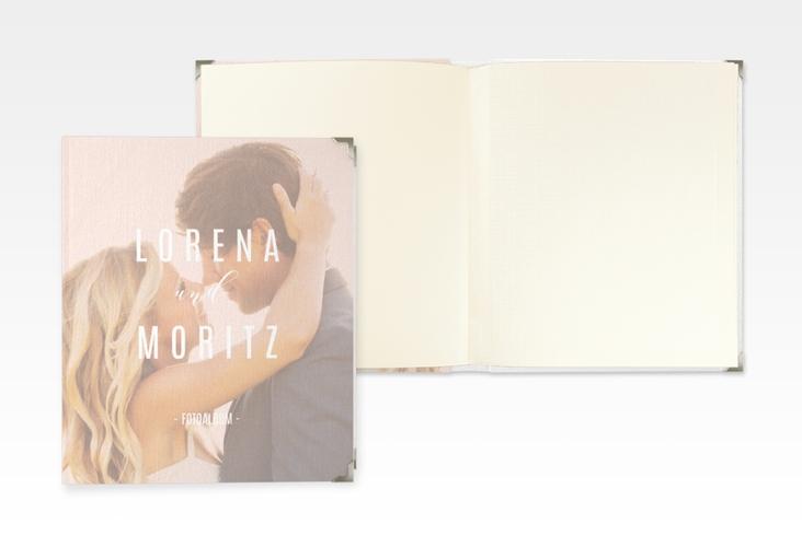 "Hochzeitsalbum ""Memory"" 21 x 25 cm rosa"