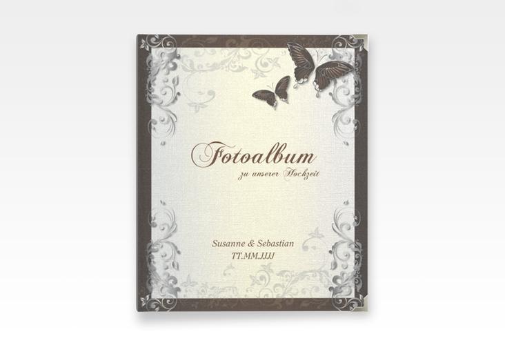 """Hochzeitsalbum """"Toulouse"""" 21 x 25 cm braun"""