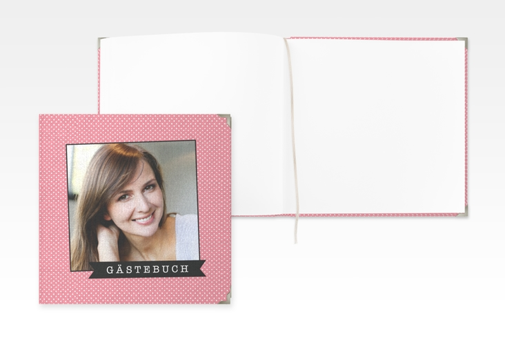 "Gästebuch Selection Geburtstag ""Polkadots"" Hardcover"