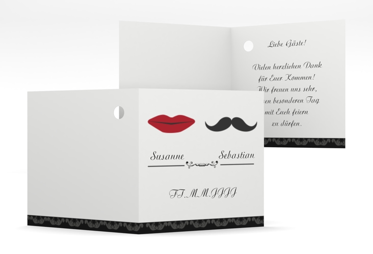 """Geschenkanhänger Hochzeit """"Montpellier"""" Geschenkanhänger 10er Set"""