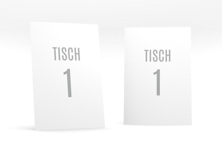 """Tischnummer Hochzeit """"Memory"""" Tischaufsteller weiss"""