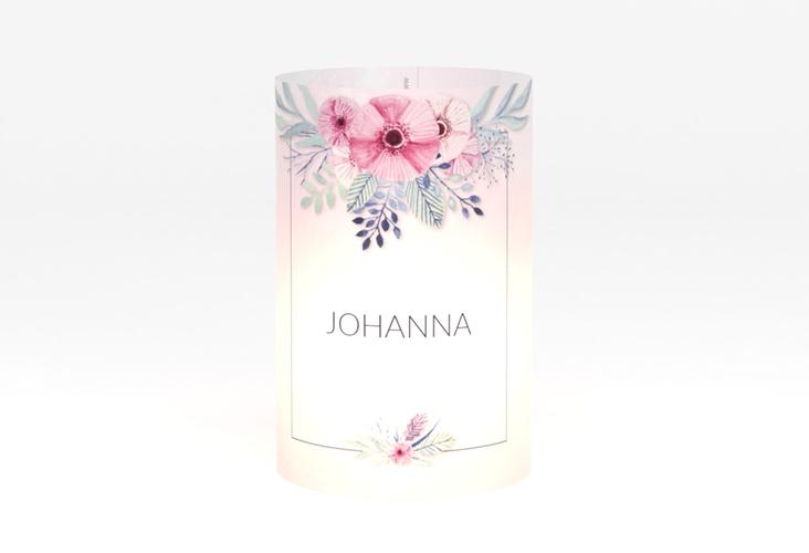 """Windlicht Hochzeit """"Surfinia"""" Windlicht rosa"""