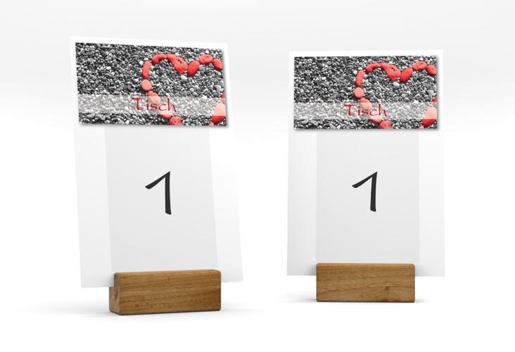 """Tischnummer Hochzeit """"Bilbao"""" Tischaufsteller"""