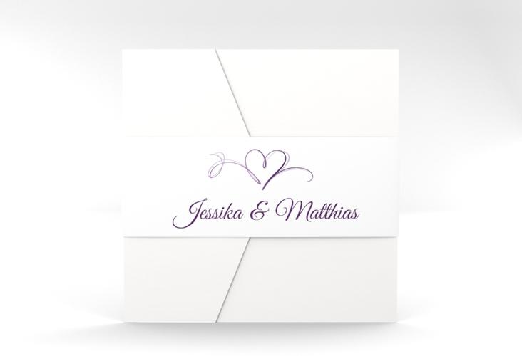 """Hochzeitseinladung """"Envie"""" Pocketfold"""