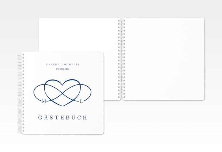 "Gästebuch Hochzeit ""Infinity"" Ringbindung"