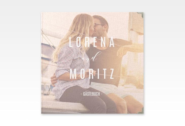 "Gästebuch Selection Hochzeit ""Memory"" Hardcover rosa"