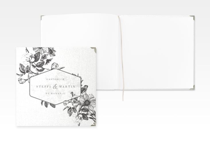 """Gästebuch Selection Hochzeit """"Magnificent"""" Leinen-Hardcover schwarz"""