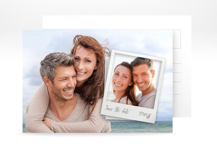 """Save the Date-Postkarte """"Portrait"""" A6 Postkarte"""